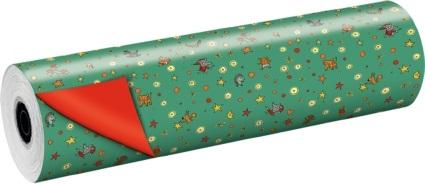Werbemittel Rollengeschenkpapier Daniela Kulot Weihnachten