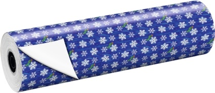Werbemittel Rollengeschenkpapier Die kleine Raupe Nimmersatt Weihnachten